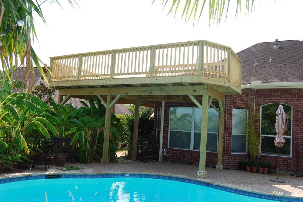 Balconies & decks in Texas