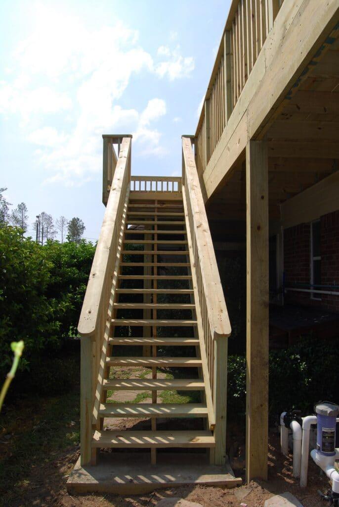 Where to build balconies & decks