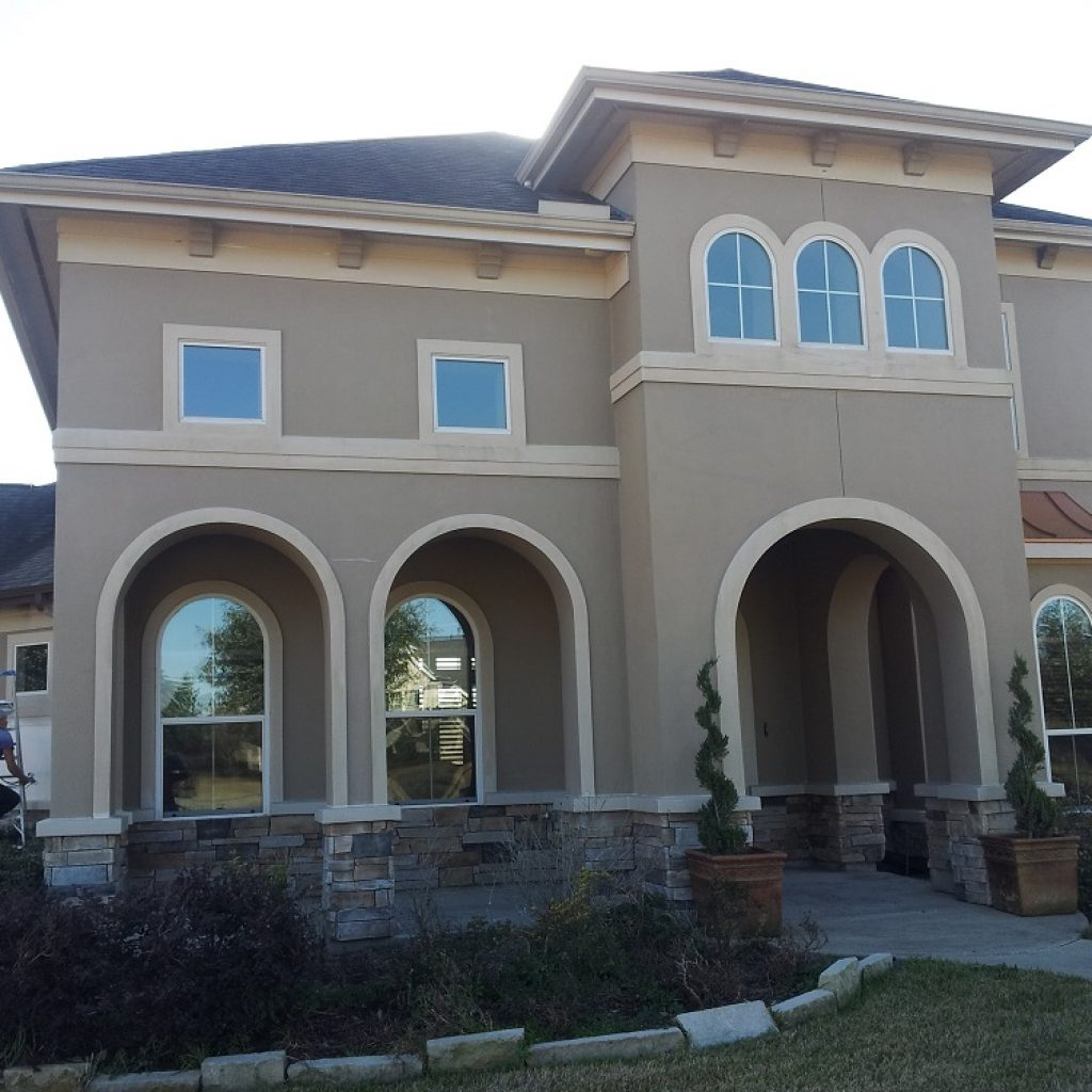 Company to painting house - Texas construction
