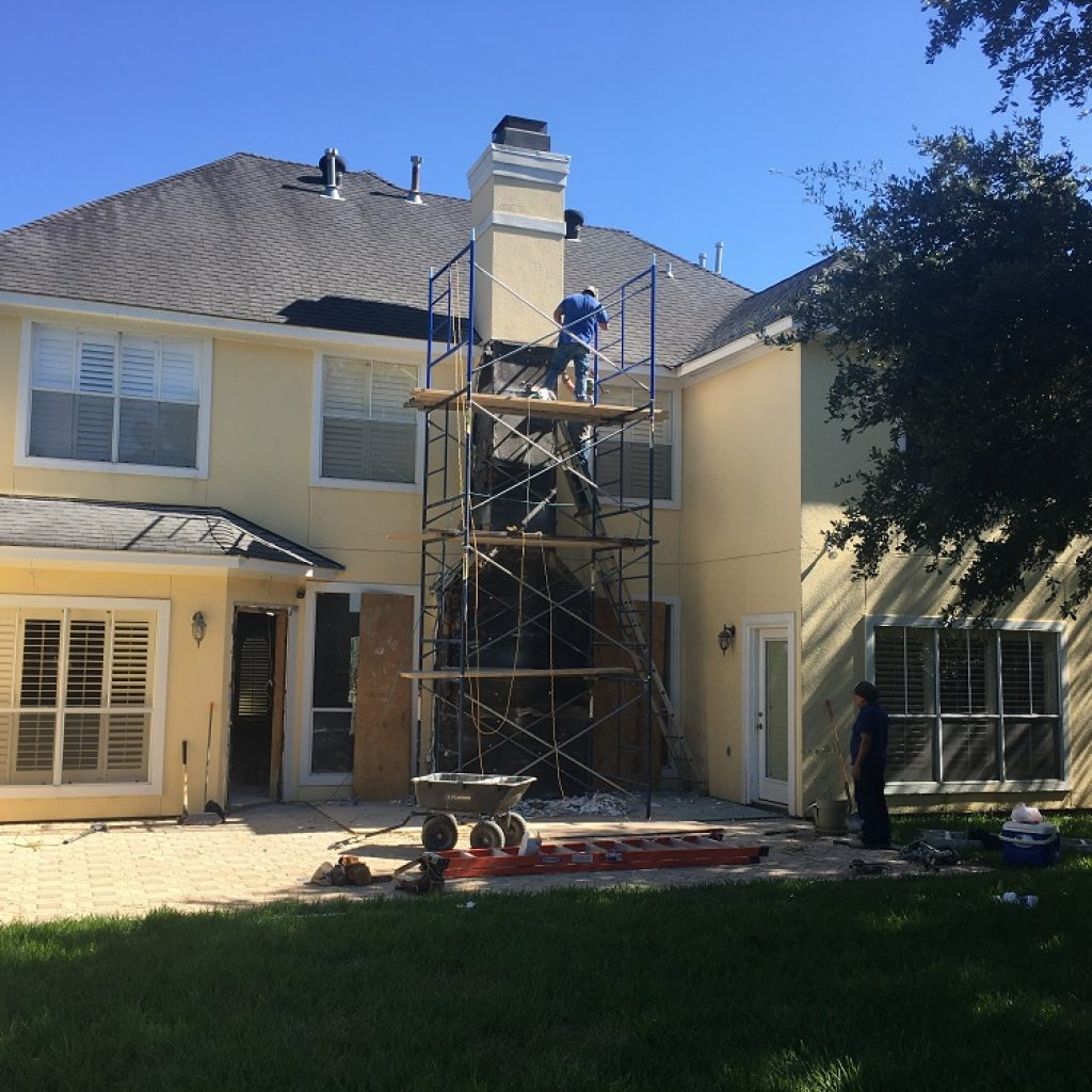 Company to painting house in Texas