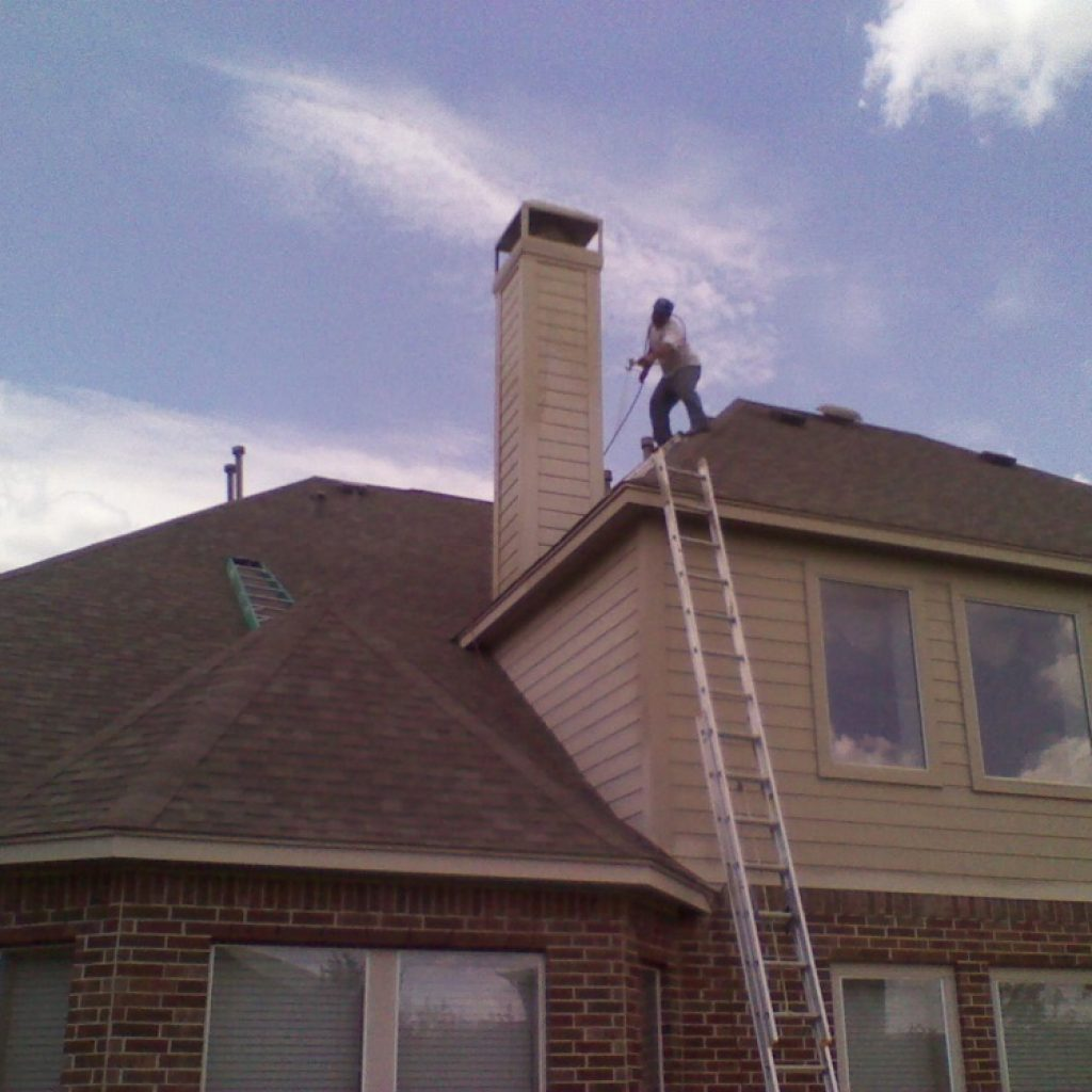 Company to painting house in America