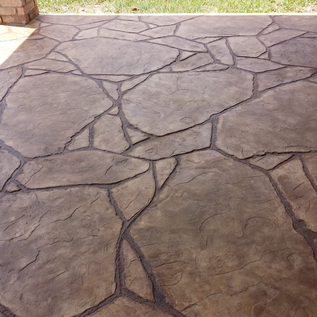 Concrete floor in Texas