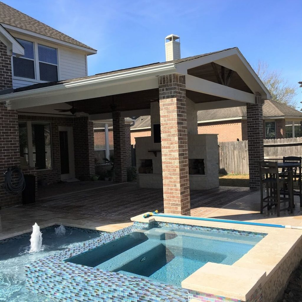 Company to build a Patio Covers and Pools - Texas