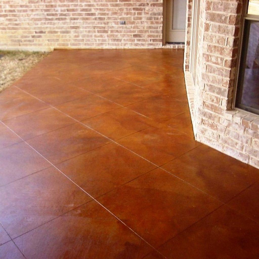 Floor in concrete in Texas