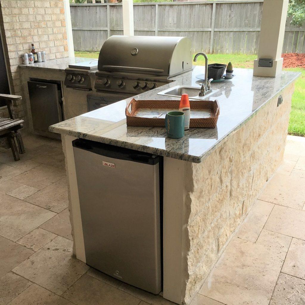 Outdoor kitchen - Texas
