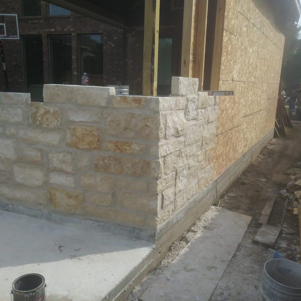 Company to build Stone & Masonry - Texas