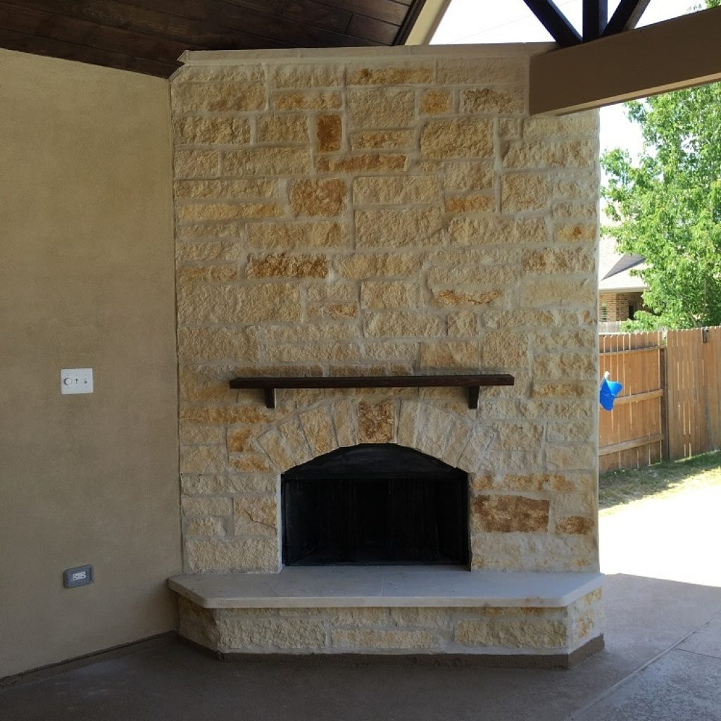 To build a fireplaces